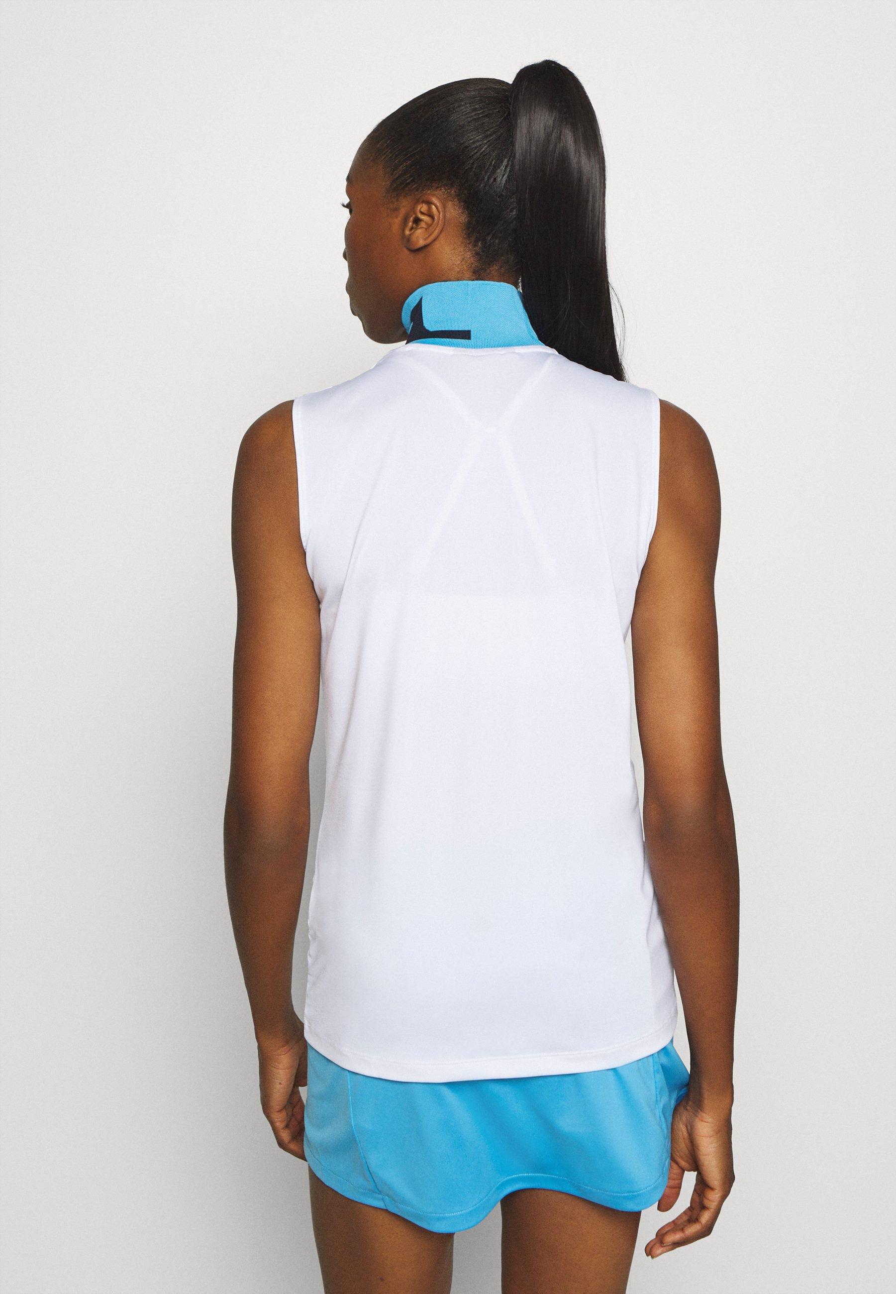 J.LINDEBERG LOU SLEEVELESS GOLF - Sports shirt - white 6lLhX