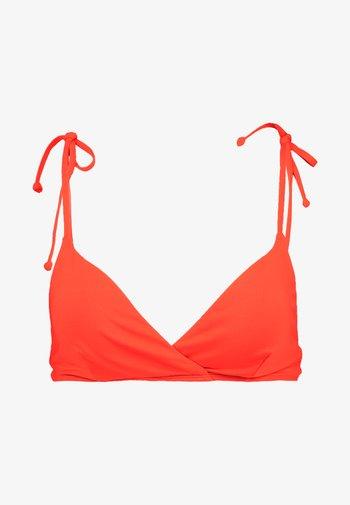 PARADISE CROSSED - Bikini top - samba