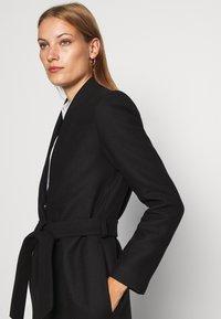 IVY & OAK - DOUBLE COLLAR COAT - Classic coat - black - 4