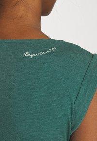 Ragwear - TAG LONG - Maxikjole - dark green - 4