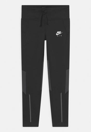AIR - Leggings - black/dark smoke grey/white