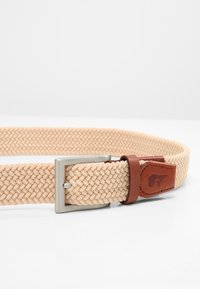 Slopes&Town - CLASSIC - Braided belt - sand - 3