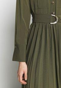 Sisley - DRESS - Vestito estivo - khaki - 4