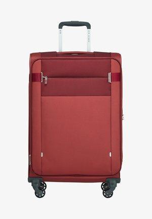 CITYBEAT - Wheeled suitcase - bordeaux