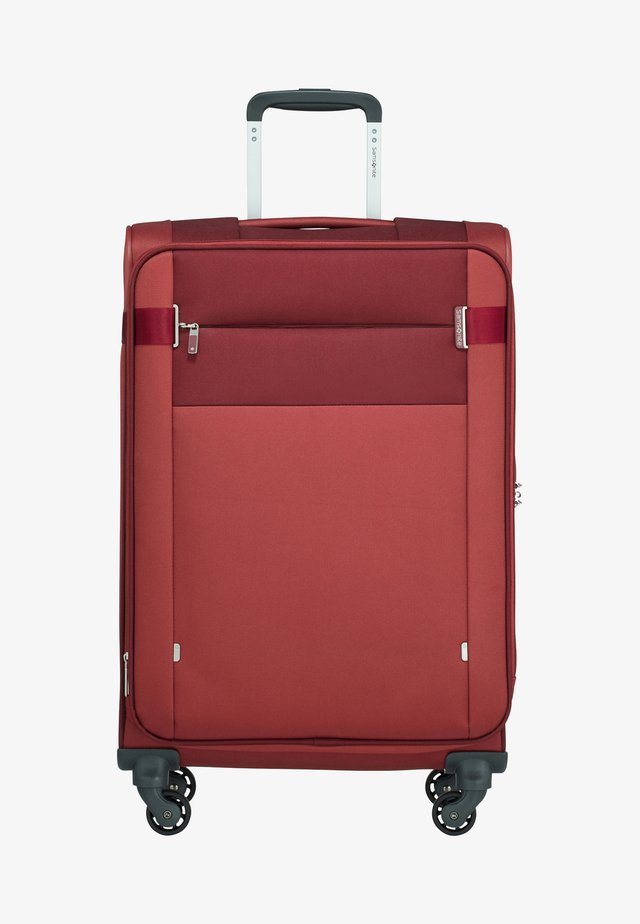 CITYBEAT - Wheeled suitcase - bordeaux