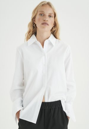 Button-down blouse - pure white