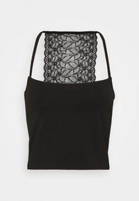 Pieces - PCNANLA CROPPED 2 PACK - Top - black - 1