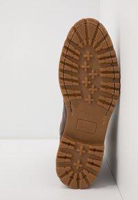 Giorgio 1958 - Lace-up ankle boots - ohio/castagno - 4