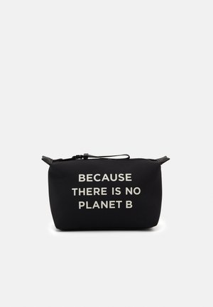SMALL VANITY CASE MESSAGE - Trousse - black