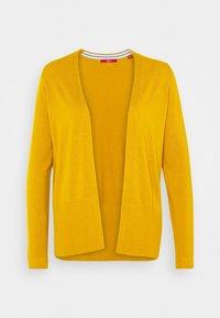 LANGARM - Strickjacke - yellow