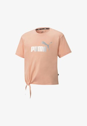 Print T-shirt - apricot blush