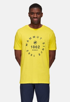 SEILE  - T-Shirt print - yellow