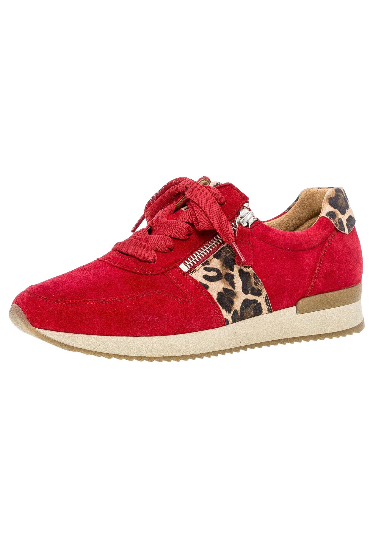Gutes Angebot Gabor Sneaker low - rot | Damenbekleidung 2020