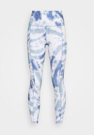 PRINTED - Leggings - Trousers - blue