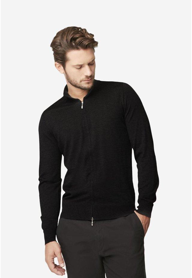 Zip-up hoodie - antracite