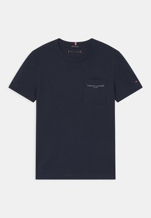 ESSENTIAL POCKET  - Basic T-shirt - twilight navy