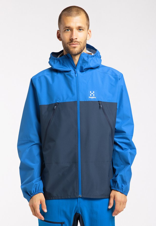 SPIRA  - Hardshell jacket - storm blue/tarn blue
