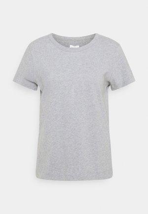 SIGNE - T-shirt basic - grey melange