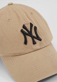 '47 - NEW YORK YANKEES CLEAN UP UNISEX - Caps - khaki - 5