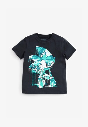 CAMOUFLAGE SONIC - Print T-shirt - multi-coloured