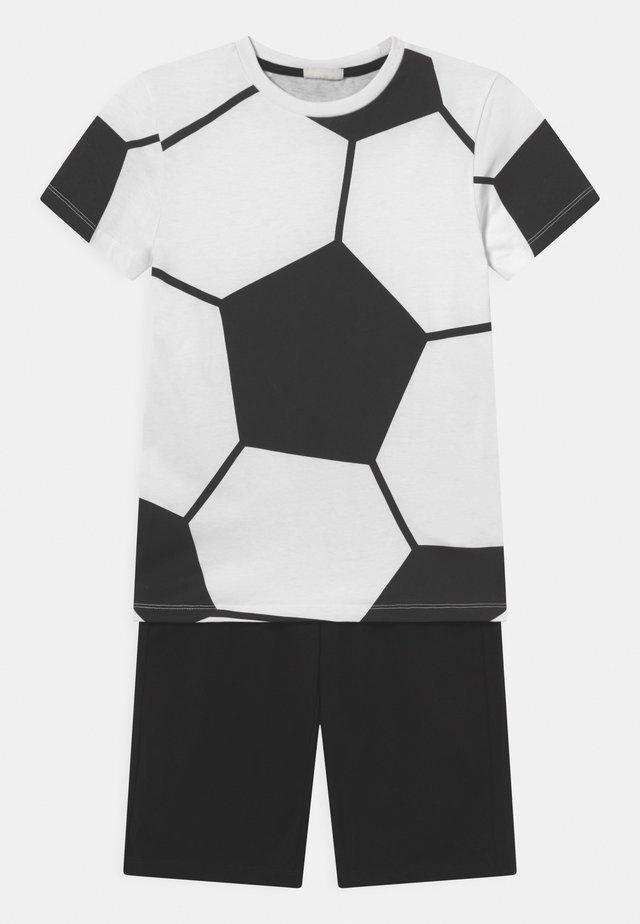 SET - T-shirt print - brilliant white