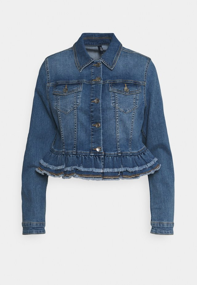 GIUBBINO - Farkkutakki - denim blue silly wash