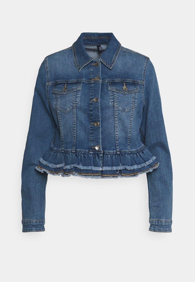 Liu Jo Jeans - GIUBBINO - Jeansjakke - denim blue silly wash
