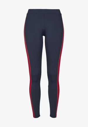 Legging - navy/red/white