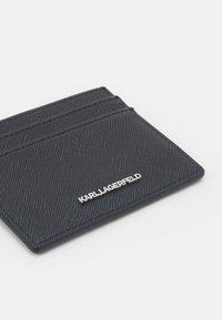 KARL LAGERFELD - IKONIK CLASSIC CARD HOLDER - Peněženka - black - 3