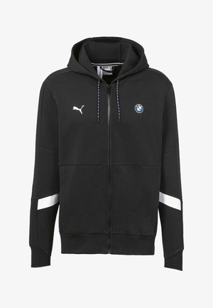 PUMA BMW M MOTORSPORT HOODED MEN'S SWEAT JACKET MALE - Zip-up hoodie - puma black