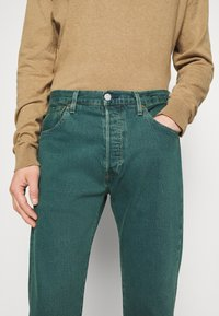 Levi's® - 501® BIRTHDAY '93 STRAIGHT - Jeansy Straight Leg - blue eyes mallard green - 4