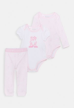 BODY PANTS - Pyjama - pink/white