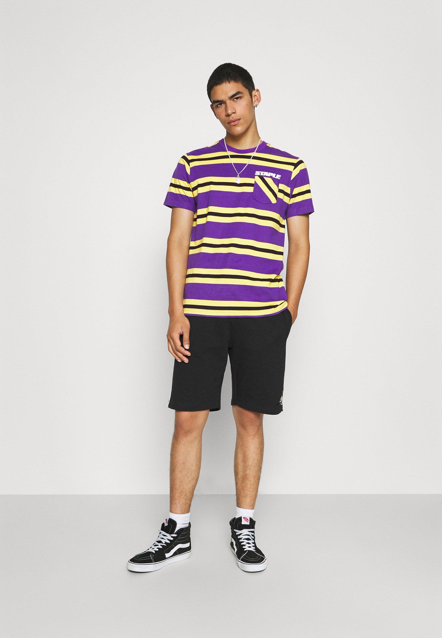 Men STRIPED POCKET TEE UNISEX - Print T-shirt