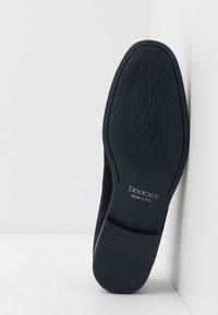 Doucal's - Elegantní nazouvací boty - unidaino blu - 4