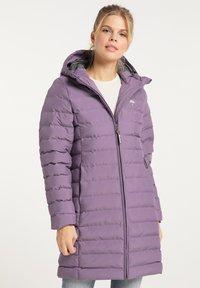Schmuddelwedda - Winter coat - rauchlila - 0