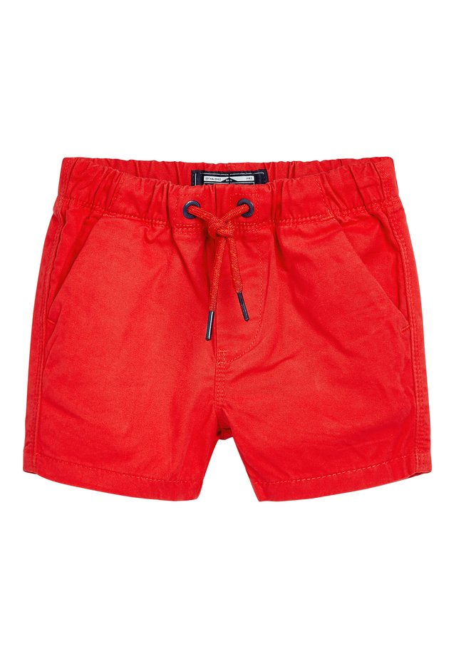 RED PULL-ON SHORTS (3MTHS-7YRS) - Shorts - red