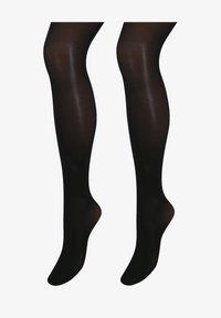 Next - TWO PACK - Over-the-knee socks - black - 0