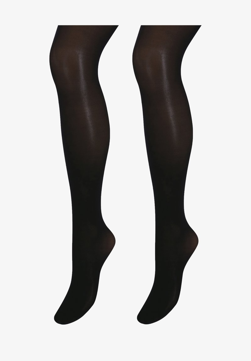 Next - TWO PACK - Over-the-knee socks - black