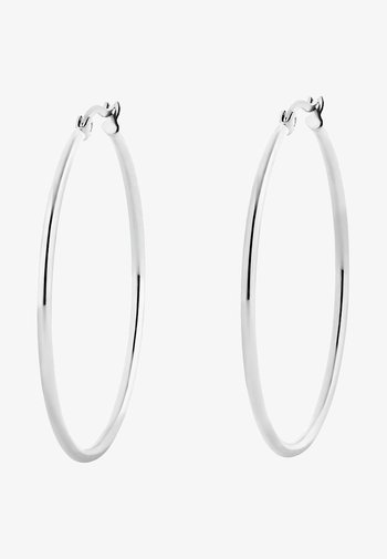 CREOLE MIT CLIP - Earrings - silver-coloured