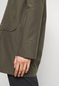 The North Face - WOMENS WOODMONT RAIN JACKET - Hardshell jacket - new taupe green - 5