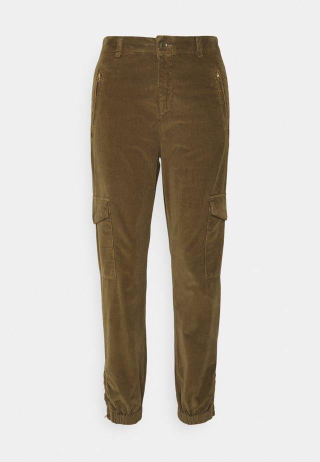 SEVENA - Pantalon cargo - beech