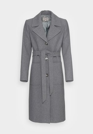 KLEO - Classic coat - medium grey melange