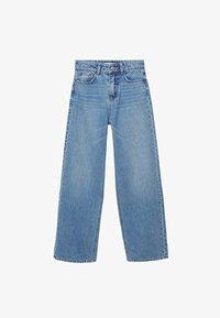 Mango - WIDE  - Flared Jeans - bleu moyen - 0