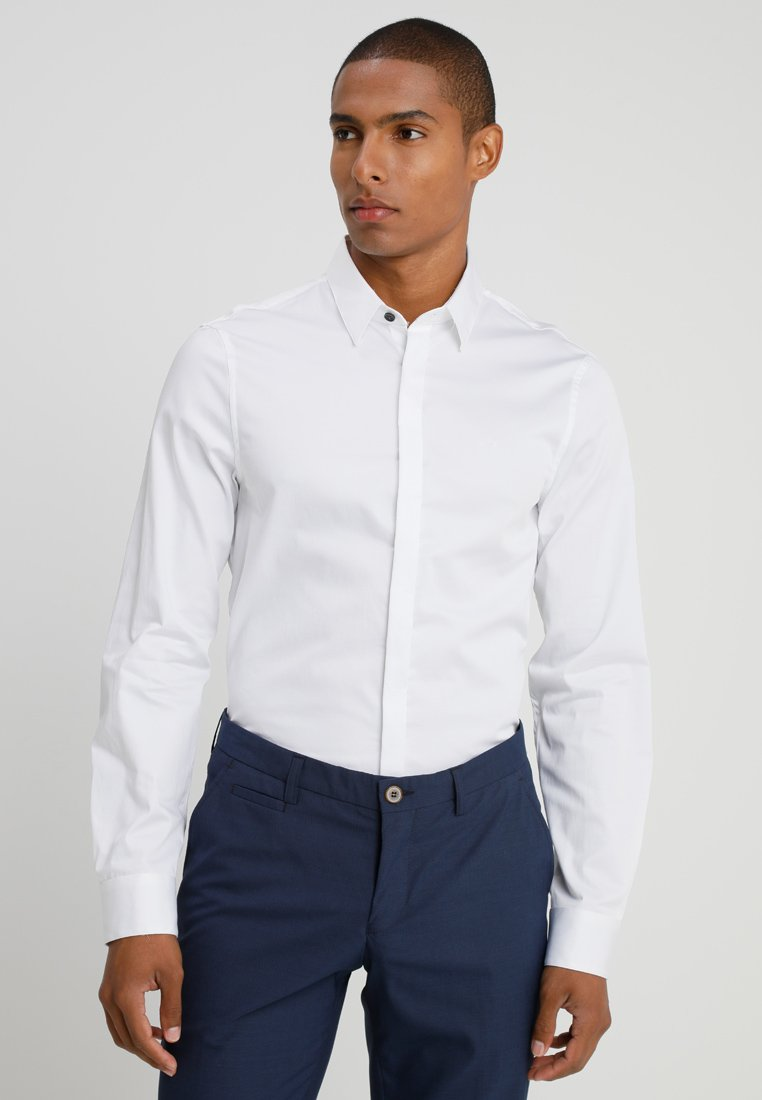 Armani Exchange - Camisa elegante - white