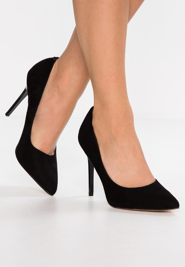 PERLA - High heels - black
