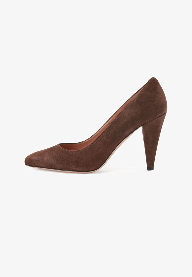 CARLYE  - High heels - dark brown