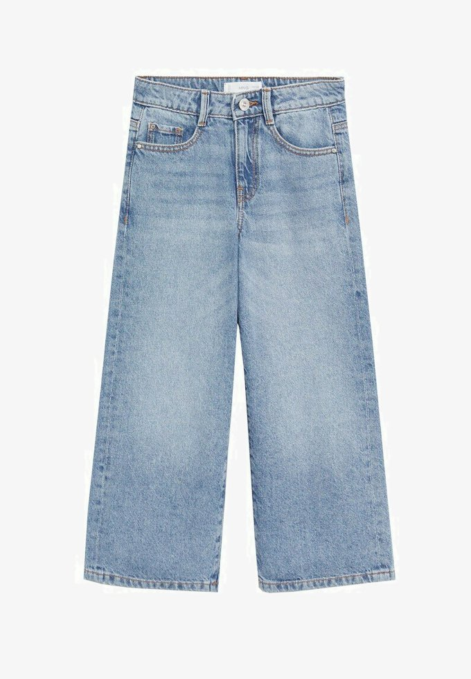 Mango - CULOTTE8 - Jeans Straight Leg - middenblauw