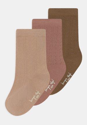 3 PACK - Socks - brush/moonlight/breen