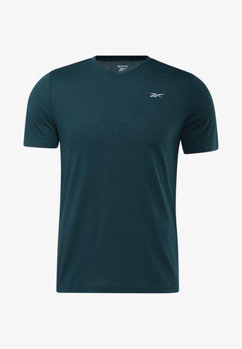 RUN ESSENTIALS SPEEDWICK T-SHIRT - Print T-shirt - green
