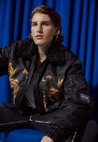 Versace Jeans Couture - DIAGONAL  - Bomber Jacket - nero - 3